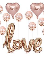 Недорогие -Праздничные украшения Праздники Декоративные объекты Прозрачный Розовый 1шт