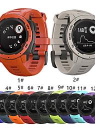 cheap -Watch Band for Garmin instinct Garmin Sport Band Silicone Wrist Strap