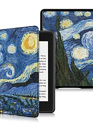 cheap -Case For Amazon Kindle Lite(2019) / Kindle PaperWhite 4 2018 Shockproof / Flip / Ultra-thin Full Body Cases sky Hard PU Leather
