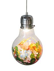 cheap -1-Light 15 cm Creative Pendant Light Glass Glass Modern 110-120V / 220-240V