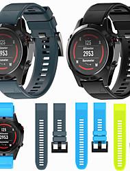 cheap -Watch Band for Fenix 5x / Fenix 5x Plus / Fenix 3 HR Garmin DIY Tools Silicone Wrist Strap