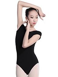cheap -Ballet Leotards Women's Training Polyester Split Joint Short Sleeve Leotard / Onesie