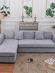 cheap -Sofa Cover Stretch Cheap Couch Cover 1 Piece Soft Durable Slipcovers Spandex Jacquard Fabric Washable Furniture Protector Armchair Loveseat L-shape