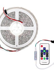 Недорогие -brelong® 5m RGB полосы света 300 светодиодов smd5050 10 мм многоцветный резка / вечеринка / декоративные 12 В 1 комплект