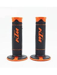 cheap -7/8 Motorcycle Rubber Hand Grip Handlebar Gel for KTM DUKE125 200 390 Modified