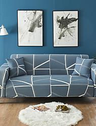 abordables -housse de canapé ligne extensible haute imprimé combinatoires housses polyester souple élastique