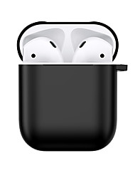 cheap -AirPods Case Solid Color Protective Cover Scrub PC Compatible with Apple AirPods 2 & 1(AirPods Charging Case not included)