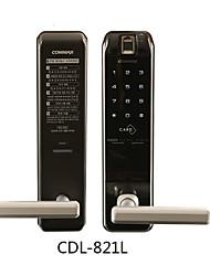 cheap -Factory OEM 821L Aluminium alloy Intelligent Lock Smart Home Security System Fingerprint unlocking / Password unlocking / Mechanical key unlocking Home / Office Security Door (Unlocking Mode