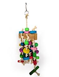 cheap -Bird Perches & Ladders Pet Friendly Focus Toy Felt / Fabric Toys Parrot Wood 30 cm