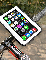 cheap -Wheel up Cell Phone Bag 6 inch Waterproof Cycling for Cycling White Mountain Bike / MTB Road Bike Outdoor Exercise