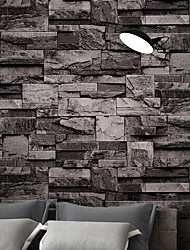 cheap -Wallpaper Nonwoven Wall Covering - Adhesive required Brick