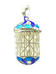 Недорогие -Жен. Кулоны Медальон Брошь Бижутерия Синий Назначение Повседневные Для улицы