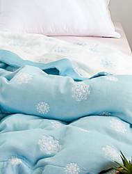 abordables -Confortable - 1 Couette Printemps & Automne Coton Fleur