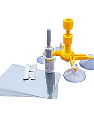 abordables -Kits de réparation de pare-brise bricolage outils de réparation de vitres de voiture en verre scratch outil de restauration de fissure de pare-brise