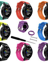Недорогие -силиконовый ремешок на запястье для Garmin Forerunner225 спортивные GPS-часы