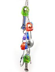 cheap -Bird Perches & Ladders Pet Friendly Focus Toy Felt / Fabric Toys Bird Metal 35 cm