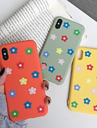 Недорогие -чехол для яблока iphone xr / iphone xs max матовая задняя крышка цветок мягкий тпу для 6 6 плюс 6 с 6 splus 7 8 7 плюс 8 плюс x xs