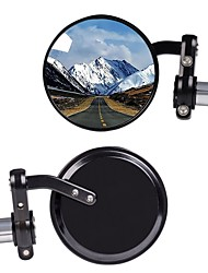 cheap -1 Pair Rear View Side Mirror Round Wide Angle Motorcycle Mirror Fits Most Harley Davidsons Suzuki Honda