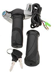 Недорогие -36 В 48 В электрический скутер поворот дроссельной заслонки руль мотоцикла светодиодный цифровой метр 7/8 дюймов 22,2 мм
