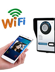 cheap -WIFI No Screen(output by APP) WIFI/IP doorbell HD 1080P waterproof video doorbell call intercom remote unlock function