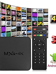 cheap -MXQ 4K Android 7.1 2.4G WIFI DLNA Smart TV Box RK3229 Quad Core 1G+8G Set-top Box Media Player