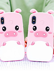 cheap -Case For Apple iPhone XS / iPhone XR / iPhone XS Max Shockproof / Pattern Back Cover Cartoon Soft Silicone