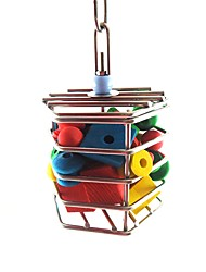 cheap -Bird Perches & Ladders Pet Friendly Focus Toy Felt / Fabric Toys Bird Metal 16 cm