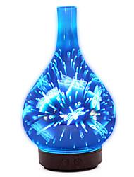 Недорогие -1шт LED Night Light DC Powered Меняет цвета / Увлажненный / Романтический подарок 24 V