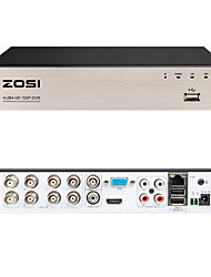 cheap -ZOSI 8CH 720P DVR Security Video Recorder BNC P2P Service Mobile Remote Monitoring 8 Channel DVR Smartphone&PC Easy Remote Access 4 in 1 Multi-Function Digital Video Recorder HD-Output VGA No HDD