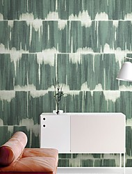 Недорогие -обои Нетканые Облицовка стен - Клей требуется Плитка