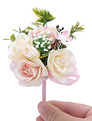 "cheap -Wedding Flowers Boutonnieres Wedding / Special Occasion Other Material 4.33""(Approx.11cm)"