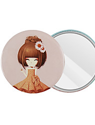 cheap -Cosmetic Mirrors Kits / Easy to Carry / Adorable Makeup 5 pcs Iron Round Full Body / Eye / Beauty & Spa Sweet / Fashion Wedding / Party / Anniversary Daily Makeup / Halloween Makeup / Party Makeup