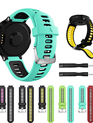 cheap -Smartwatch Band for Forerunner235/630/735/735XT/220/230/620 / ApproachS20/S5/S6 Garmin Strap Silicone Sport Fashion Soft Band