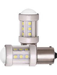 cheap -2pcs 1156 BA15S 1157 BAY15D Car LED Light Bulbs Super Bright 7W 12V 24V SMD 3030 18 LED Lamp Ceramics White for Turn Signal Light Brake Parking Tail Fog Lights