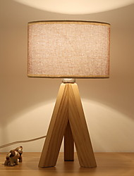 cheap -Table Lamp Modern Contemporary For Bedroom Study Room Office Wood Bamboo 220V