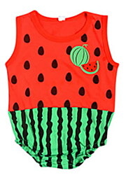cheap -Baby Unisex Cute Cartoon Jumpsuit Rompers Triangle Conjoined Short Sleeve Clothes