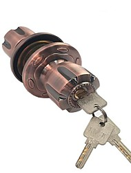 cheap -Ball lock copper lock core zinc alloy red bronze door lock Zhongshan factory indoor room bathroom ball lock ball lock