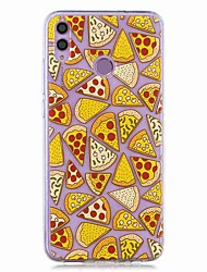 cheap -Case For Huawei Honor 8X / Huawei P Smart (2019) Pattern / Transparent Back Cover Pizza Soft TPU for Mate20 Lite / Mate10 Lite / Y6 (2018) / P20 Lite / Nova 3i / P Smart / P20 Pro