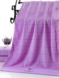 cheap -Superior Quality Bath Towel, Floral / Floral / Botanical / Fashion 100% Cotton / Pure Cotton Bathroom 1 pcs
