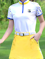 cheap -Women's Skirt Tee / T-shirt Clothing Suit Short Sleeve Golf Athleisure Outdoor Autumn / Fall Spring Summer Winter / Cotton / Stretchy / Moisture Wicking / Breathable
