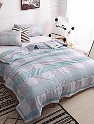 abordables -Confortable - 1 Couette Printemps & Automne Coton Ecossais / à Carreaux