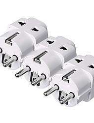 Недорогие -Зарядное устройство usb зарядное устройство ес штекер нормальный 2 постоянного тока 5 В 3 шт.