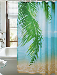 cheap -Bathroom Shower Curtains Casual Polyester Waterproof