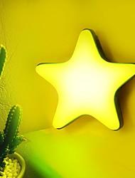 cheap -1pc Pentagram Nursery Night Light / Smart Night Light Warm White / White AC Powered Safety / Rechargeable / Birthday 5 V