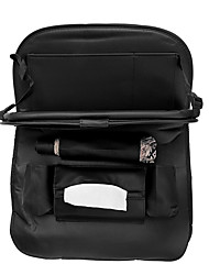 cheap -Microfiber Leather Car Seat Back Foldable Food Table Storage Bag Multi-functional Phone Organizer