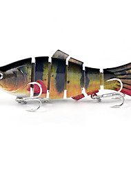 cheap -1 pcs Fishing Lures Hard Bait Sinking Bass Trout Pike Bait Casting Hard Plastic