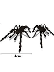 Недорогие -1 пара паук 3d стереоскопический эффект тени украшения автомобиля стикер