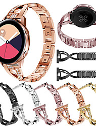 abordables -Bracelet de Montre  pour Samsung Galaxy Watch 42 / Samsung Galaxy Active Samsung Galaxy Design de bijoux Acier Inoxydable Sangle de Poignet