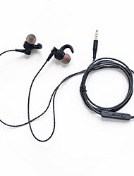 cheap -LITBest Sport Earphone SY-03 Wired In Ear Strong Bass with Microphone with Volume Control 3.5mm Plug   for Mobile Phones