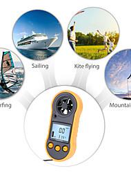 cheap -RZ818 Portable Anemometer Anemometro Thermometer Wind Speed Gauge Meter Windmeter 30m/s LCD Digital Hand-held Measure